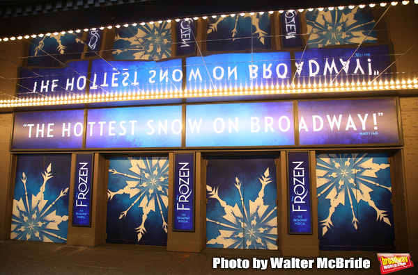 Photos: FROZEN Gets a Marquee Upgrade For 2019