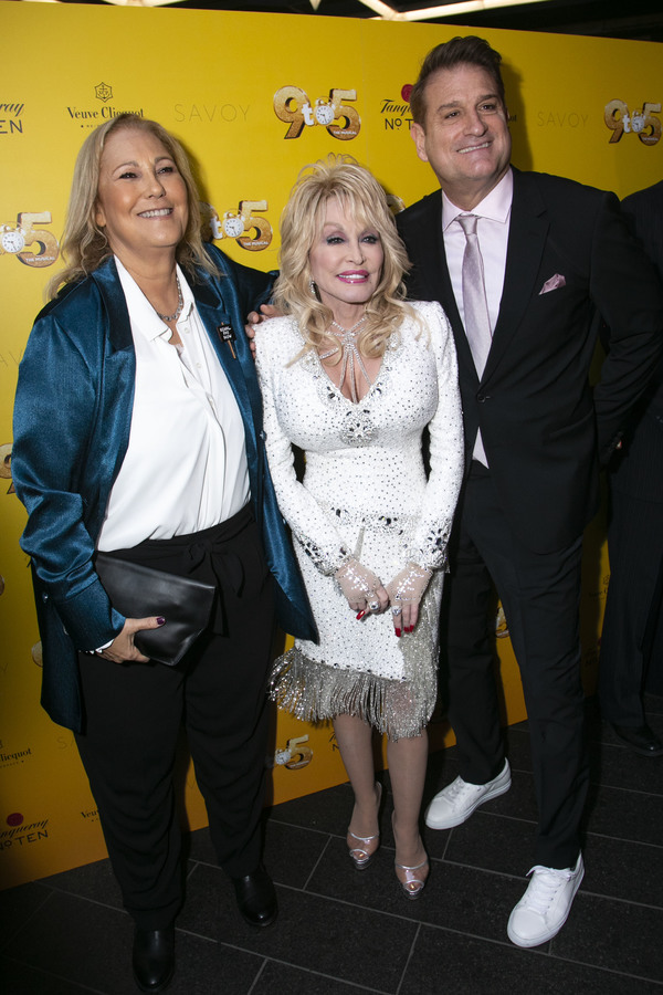 Patricia Resnick (Author), Dolly Parton (Music/Lyrics) and Jeff Calhoun (Director) Photo