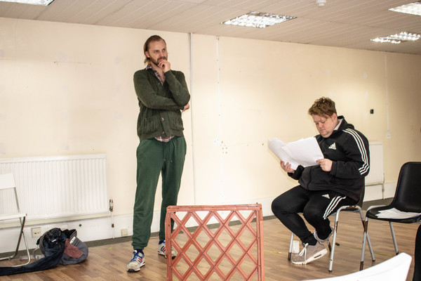 Photo Flash: Inside Rehearsal For WE'RE STAYING RIGHT HERE at Park Theatre