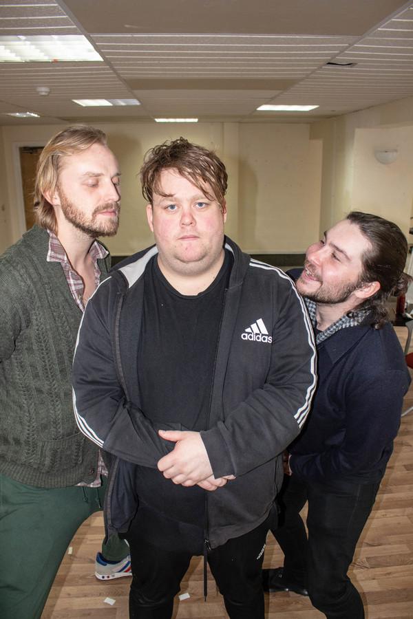 Tom Canton, Danny Kirrane, and Daniel Portman Photo