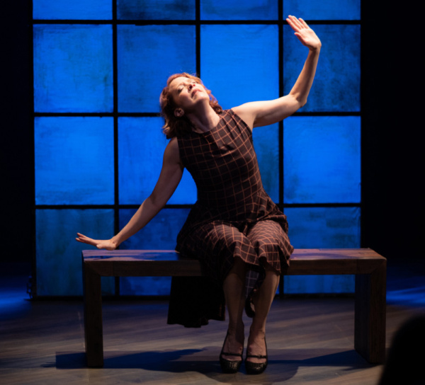 Renata Hinrichs in RandomActs. Photo by Mitch Traphagen. Photo