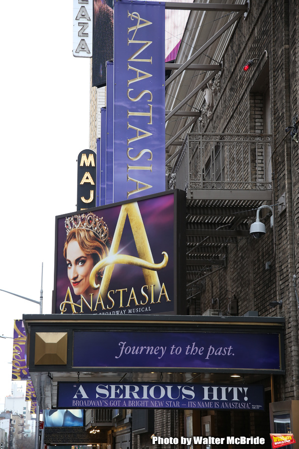 Up on the Marquee: ANASTASIA Gets a Makeover with Christy Altomare and Cody Simpson