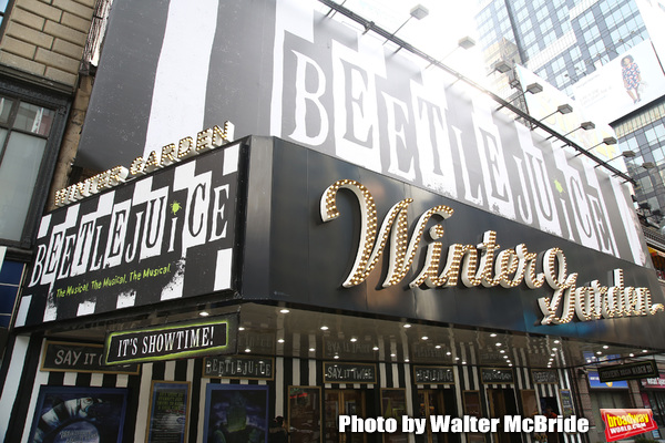Up on the Marquee: BEETLEJUICE Arrives on Broadway
