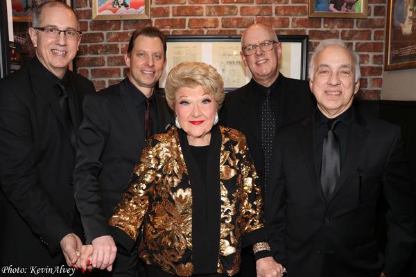 Tom Hubbard, Daniel Glass, Marilyn Maye, Jeff Harris, Jack Cavari Photo