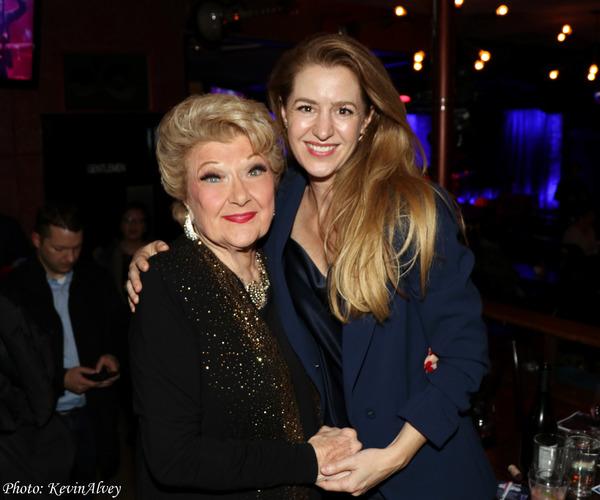 Marilyn Maye, Minda Larsen Photo