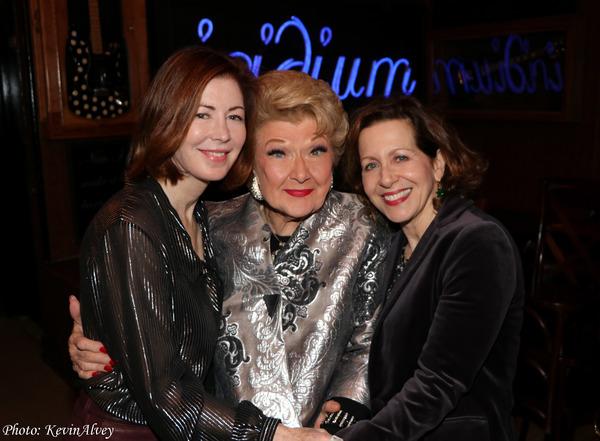 Dana Delaney, Marilyn Maye, Betsy Aidem Photo