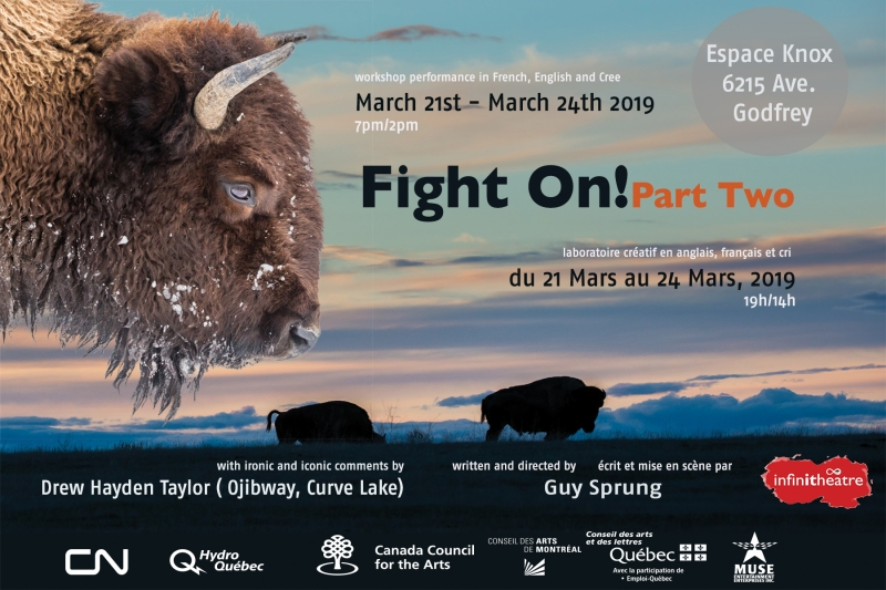 Infinithéâtre Presents FIGHT ON! PART TWO this March