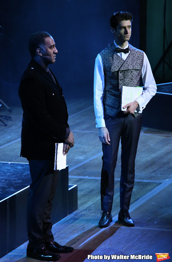 Norm Lewis and Drew Gehling