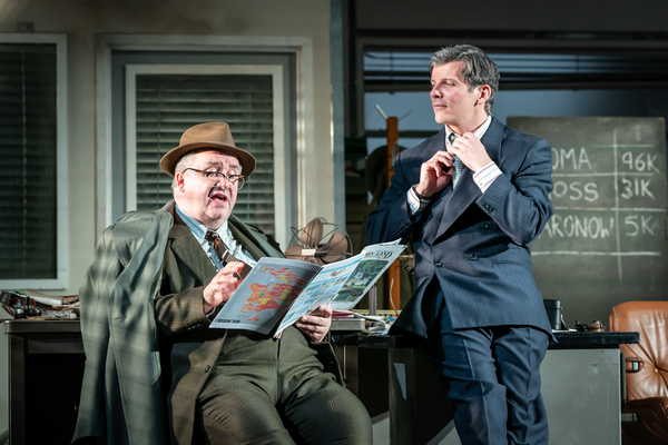 Mark Benton, Nigel Harman