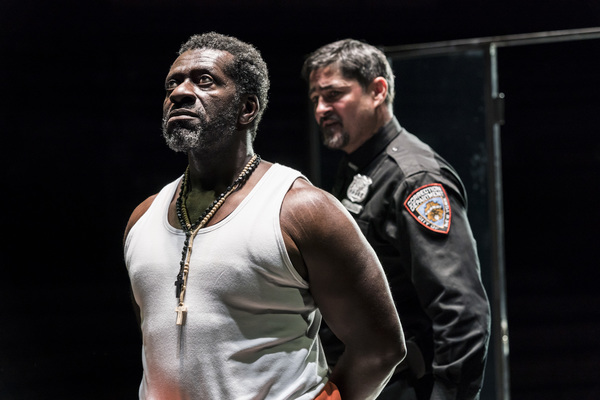 Photo Flash: First Look at Young Vic's JESUS HOPPED THE 'A' TRAIN