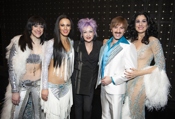 Photo Coverage: Cyndi Lauper Visits THE CHER SHOW!