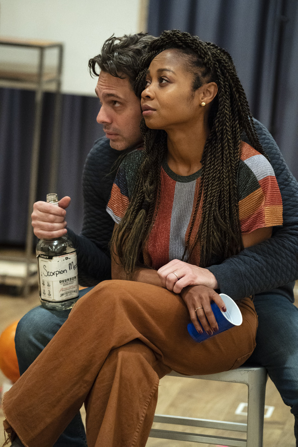 Photo Flash: In Rehearsal with The Public's WHITE NOISE