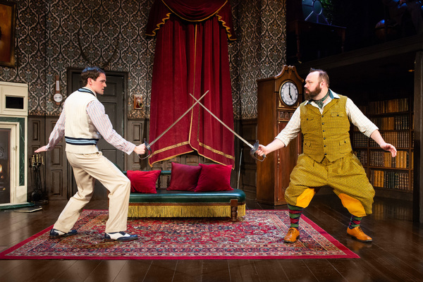 Photo Flash: THE PLAY THAT GOES WRONG Wreaks Havoc Off-Broadway