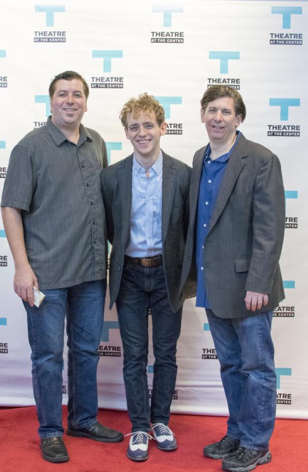 Nick Anderson, Michael Kurowski and Michael Sinclair