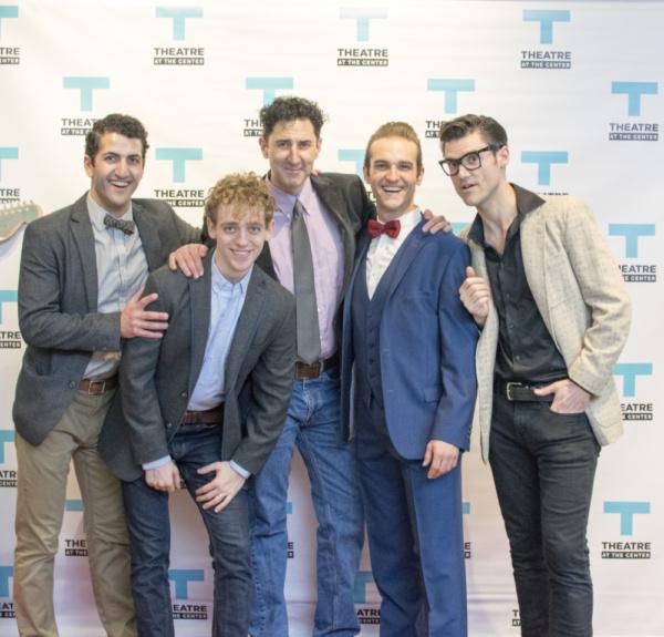 Tommy Malouf, Michael Kurowski, Sean Fortunato, Zach Sorrow and Zachary Stevenson Photo