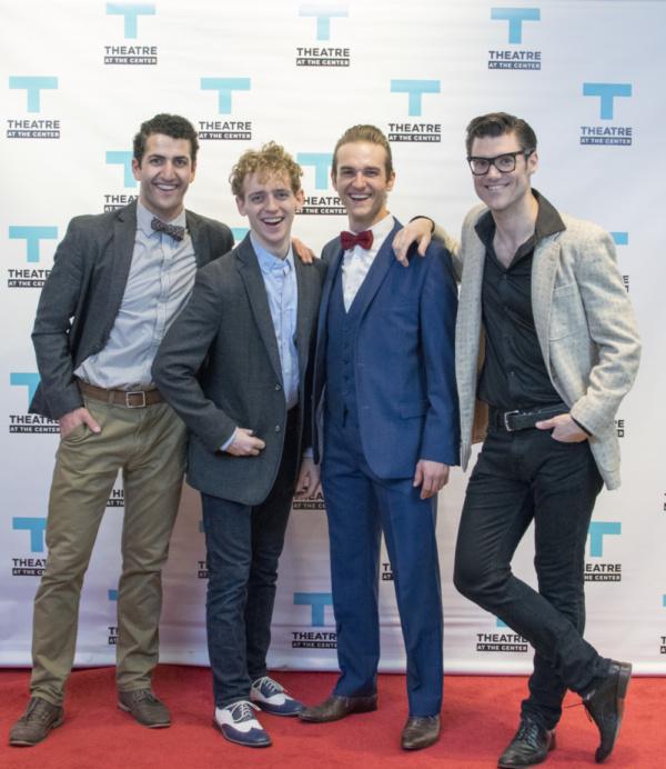 Tommy Malouf, Michael Kurowski, Zach Sorrow and Zachary Stevenson Photo