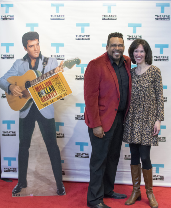 Director Daryl Brooks with TATC Artistic Director Linda Fortunato