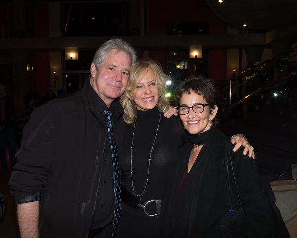 Robert Yacko, Sandy Bainum, and Cate Caplin