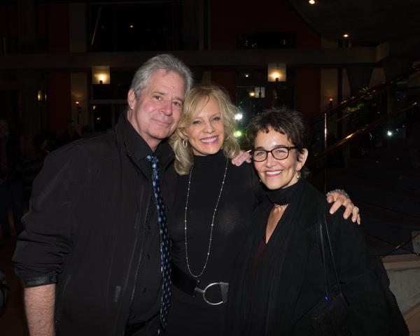 Robert Yacko, Sandy Bainum, and Cate Caplin
