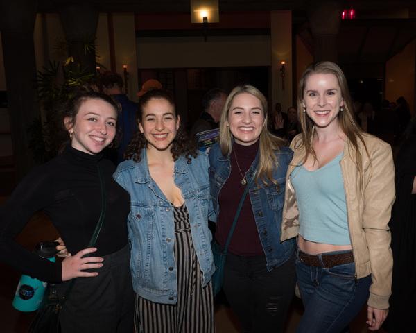 Danielle Kay, Natalie Iscovich, Erica Schaeffer, and Erin Dubreuil Photo