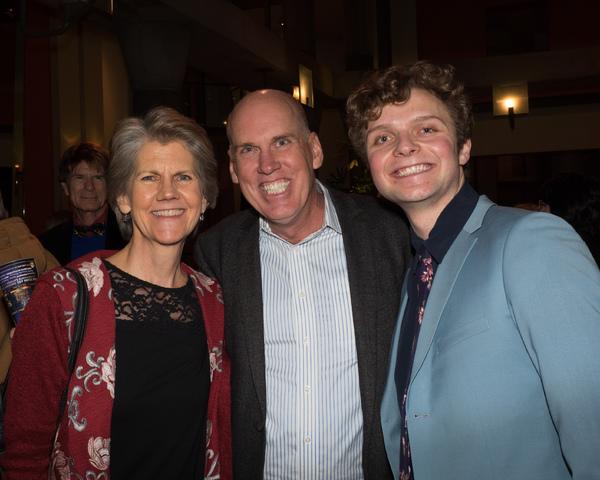 Julie Lamoureux, Corky Loupe, and Calvin Brady Photo
