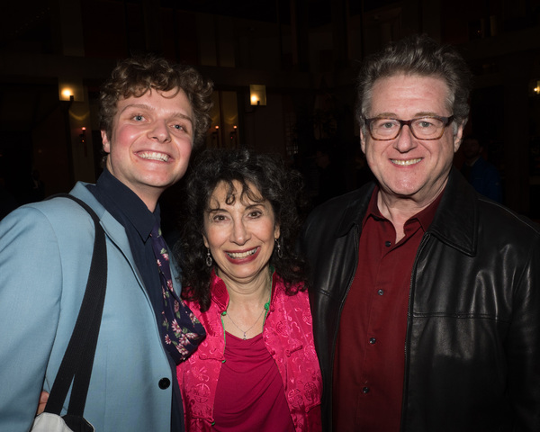 Calvin Brady and Jean Kauffman with Book Writer and Lyricist Robert L. Freedman