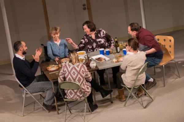 The Cast of Geva Theatre Center's THE HUMANS