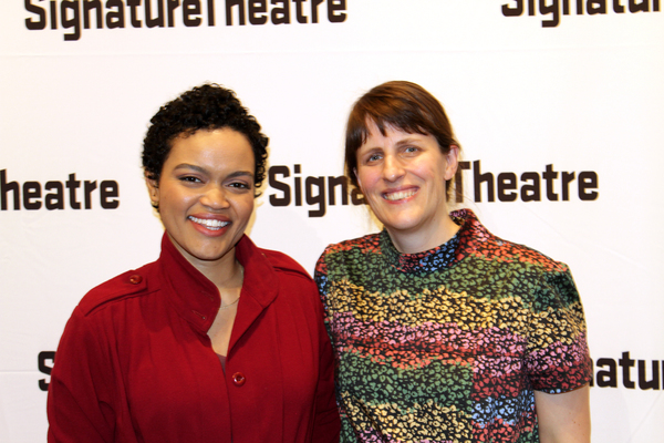 Danielle Davenport and Sarah Benson  Photo