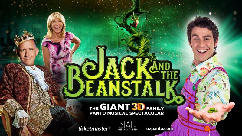 Peter Rowsthorn, Jimmy Rees, Luke Joslin To Star In Giant 3D Family Panto Musical Spectacular JACK AND THE BEANSTALK