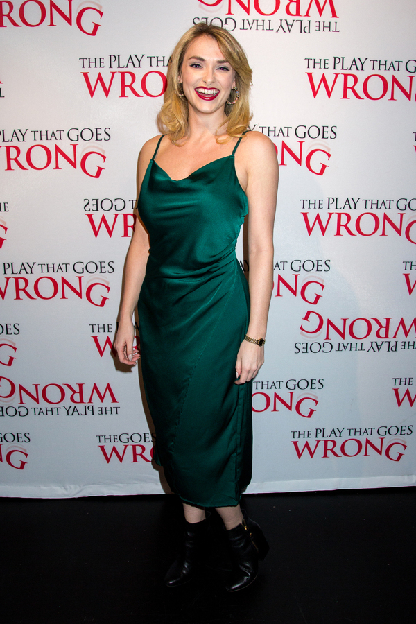 Photo Coverage: THE PLAY THAT GOES WRONG Opens Off-Broadway