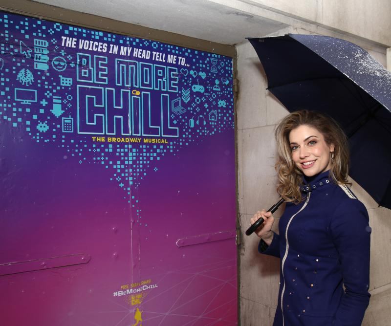 Debut of the Month: C-c-c'mon! Katlyn Carlson Makes Her Broadway Debut in BE MORE CHILL