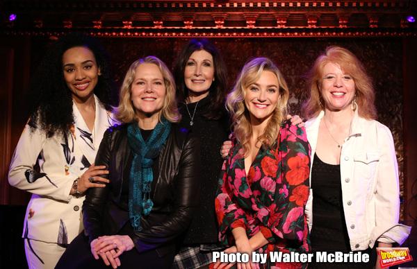 Nicole Vanessa Ortiz, Rebecca Luker, Joanna Gleason, Betsy Wolfe and Deborah Grace Wi Photo