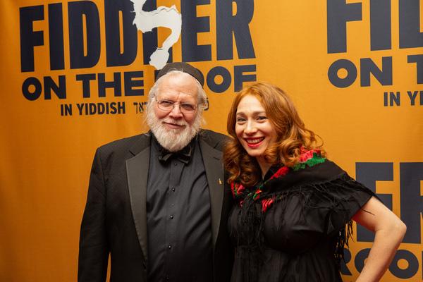 Zalman Mlotek and Regina Spektor Photo
