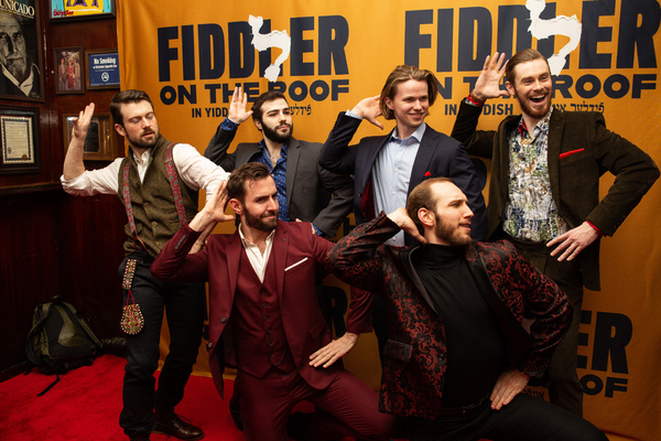 Photo Coverage: Joel Grey & More Celebrate Opening Night of Yiddish FIDDLER ON THE ROOF!