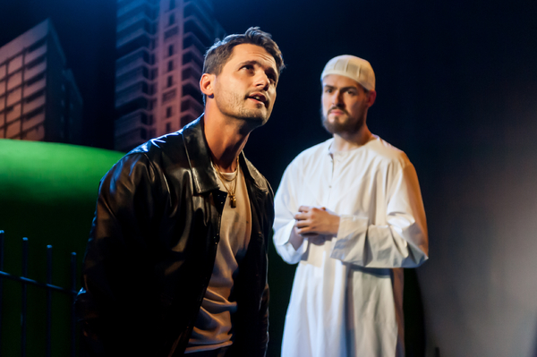 Fabrizio Santino (Tony) and Sam Frenchum (Mark/Abdullah)