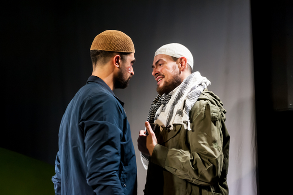 Archie Backhouse as Saleh and Sam Frenchum as Mark/Abdullah