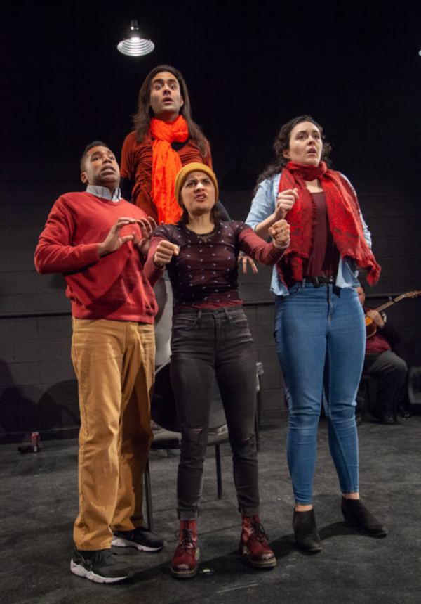 Phoenyx Williams, Marcel Mascaro, Allison Lewis-Towbes, and Sarah Leach