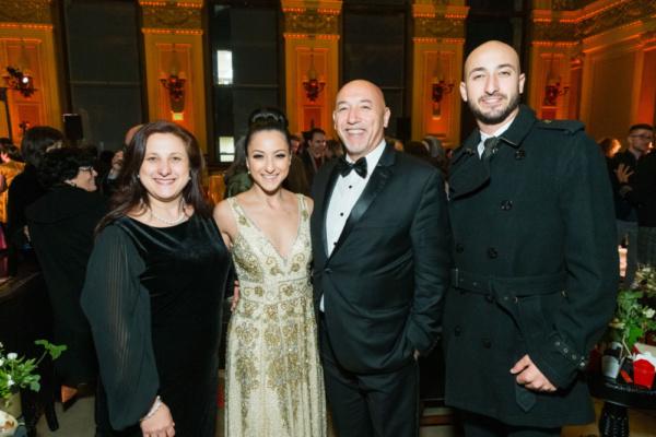 Eva Mouawad, Sheridan Mouawad, Roderick Mouawad, Richard Mouawad Photo