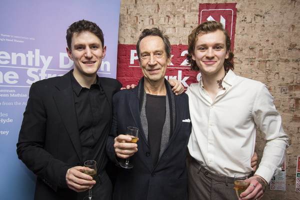 Ben Allen, Jonathan Hyde & Harry Lawtey
