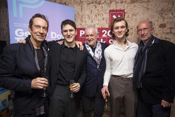 Jonathan Hyde, Ben Allen, Sean Mathias, Harry Lawtey & Martin Sherman