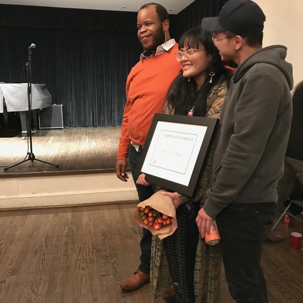 Photo Flash: RPR's Cornelia Street Playwriting Award
