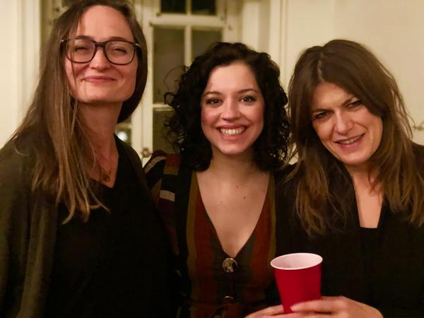 Addie Talbott, Amy Berryman and Annabel Capper