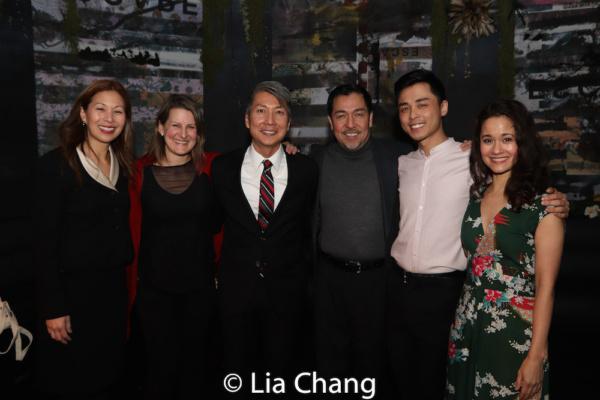Nancy Yao Maasbach, Kristen Lee Rosenfeld, Jason Ma, Alan Ariano, Jonny Lee, Jr. and Ali Ewoldt