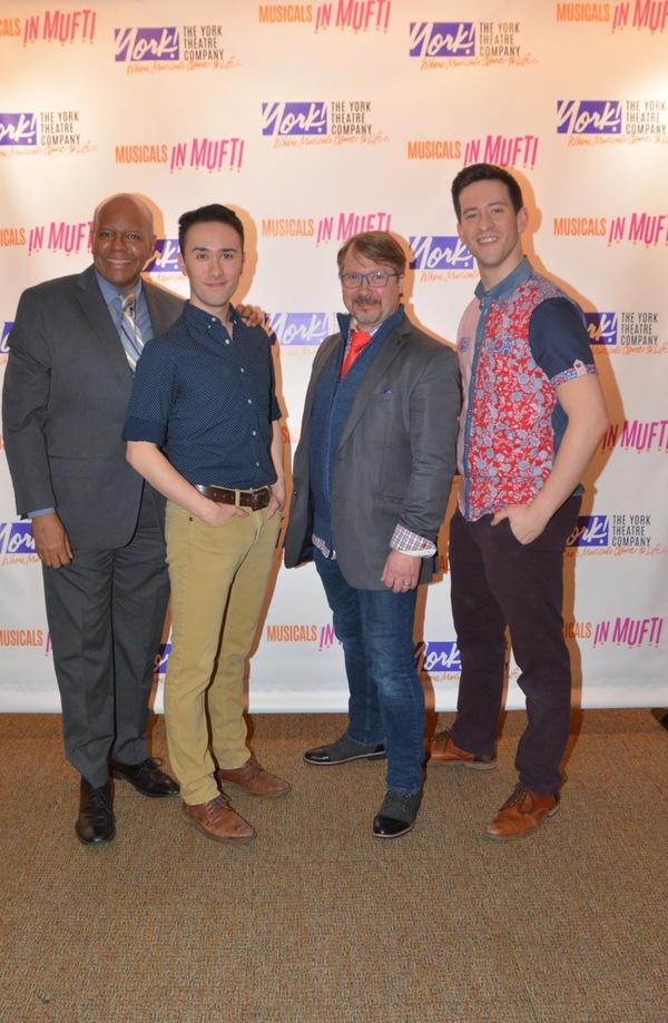 Jay Aubrey Jones, Kennedy Karagawa, Mark Montague and Max Meyers Photo