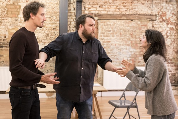 Henry Proffit, Sean Rigby, and Ruby Bentall Photo