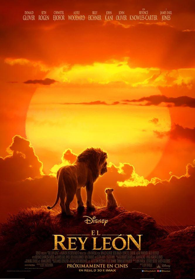 VÍDEO: Nuevo póster y trailer de EL REY LEÓN (2019)