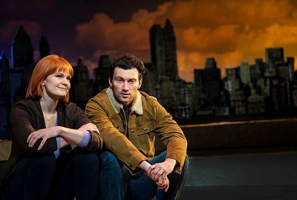 Photo Flash: First Look At Kate Baldwin, Bryce Pinkham And More In SUPERHERO At Second Stage