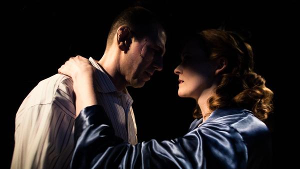 L-R: Mark Pracht, Annie Hogan Photo