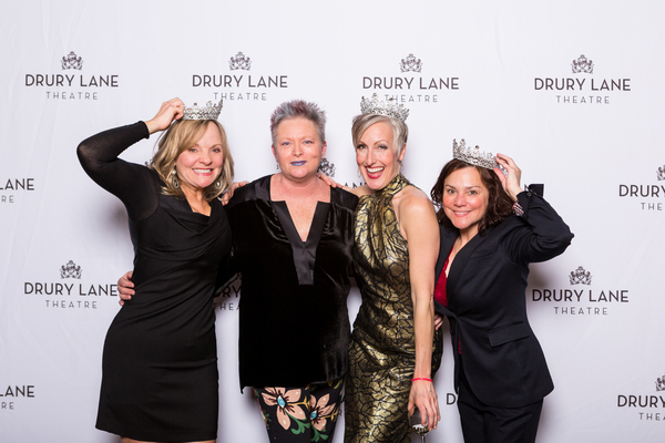 Susie McMonagle (Donna), Choreographer Jane Lanier, McKinley Carter (Tonya) and Eliza Photo