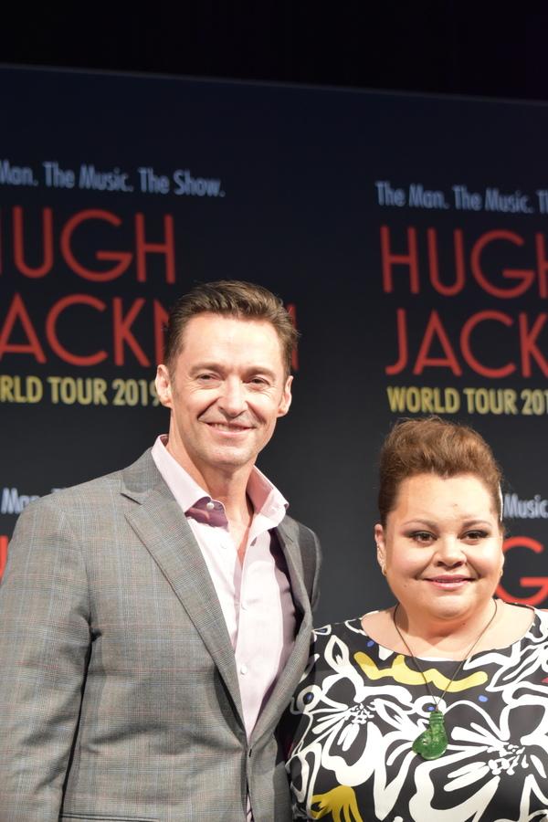 Photos/Videos: Watch Hugh Jackman Launch His World Tour in Australia with Keala Settle